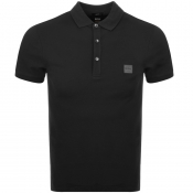 BOSS Casual Passenger Polo T Shirt Black